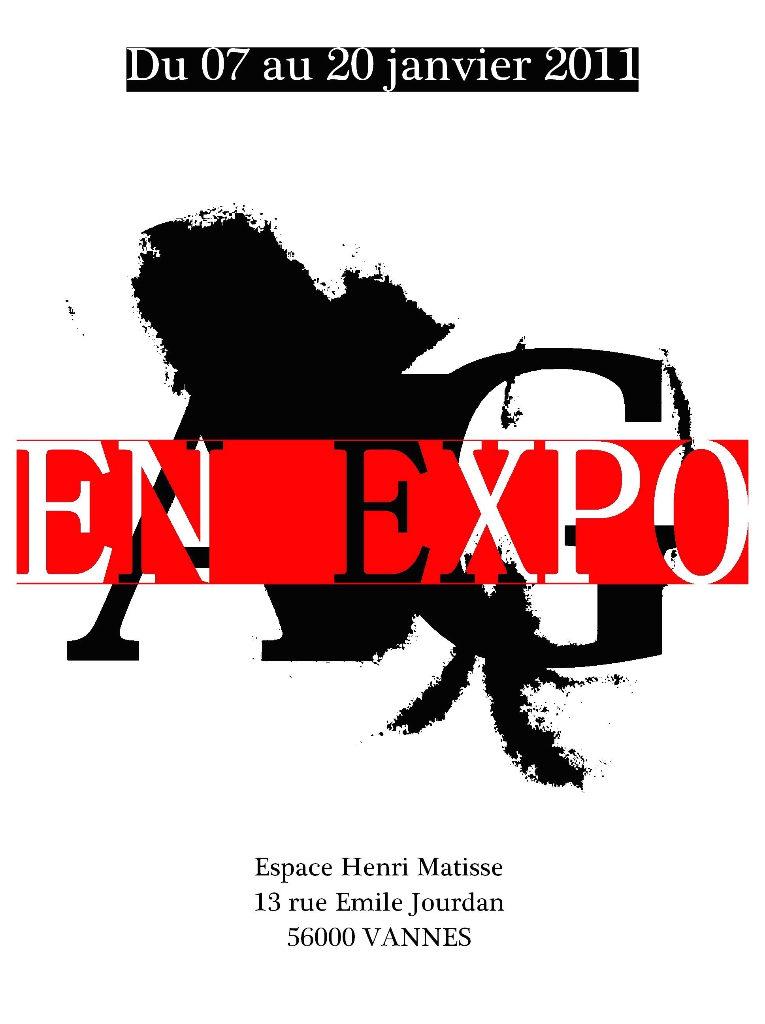 EN EXPO - première exposition artistique d'Anthony Guillermo