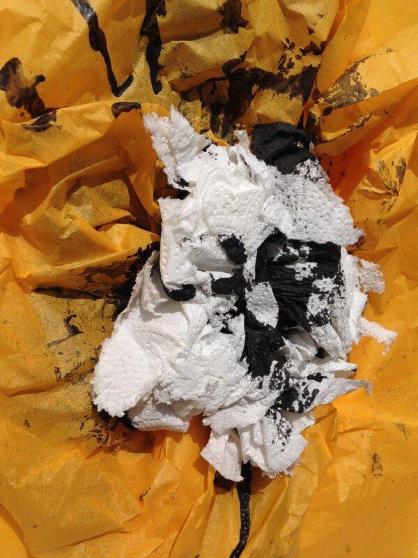 L'artiste plasticien breton présente la toile en lin Bouton d'or