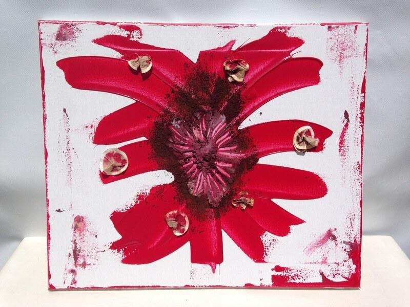 Toile en lin Passion - 2012 pour l'écriture des maux