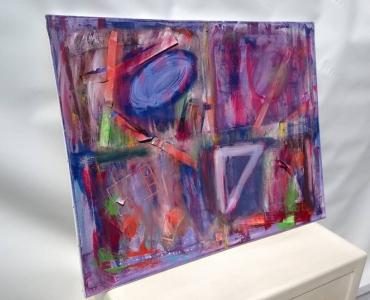 L'artiste plasticien breton présente la toile en lin PicaPop