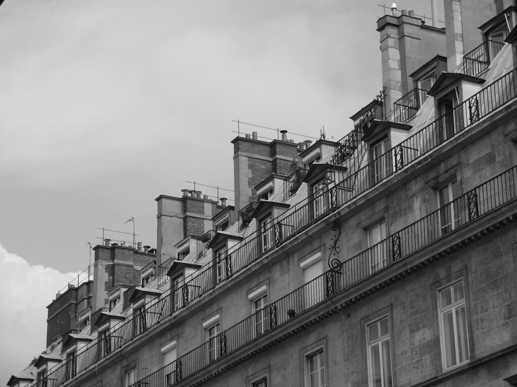 Patrimoine et Monuments de Paris- Façade et Toit - 2016