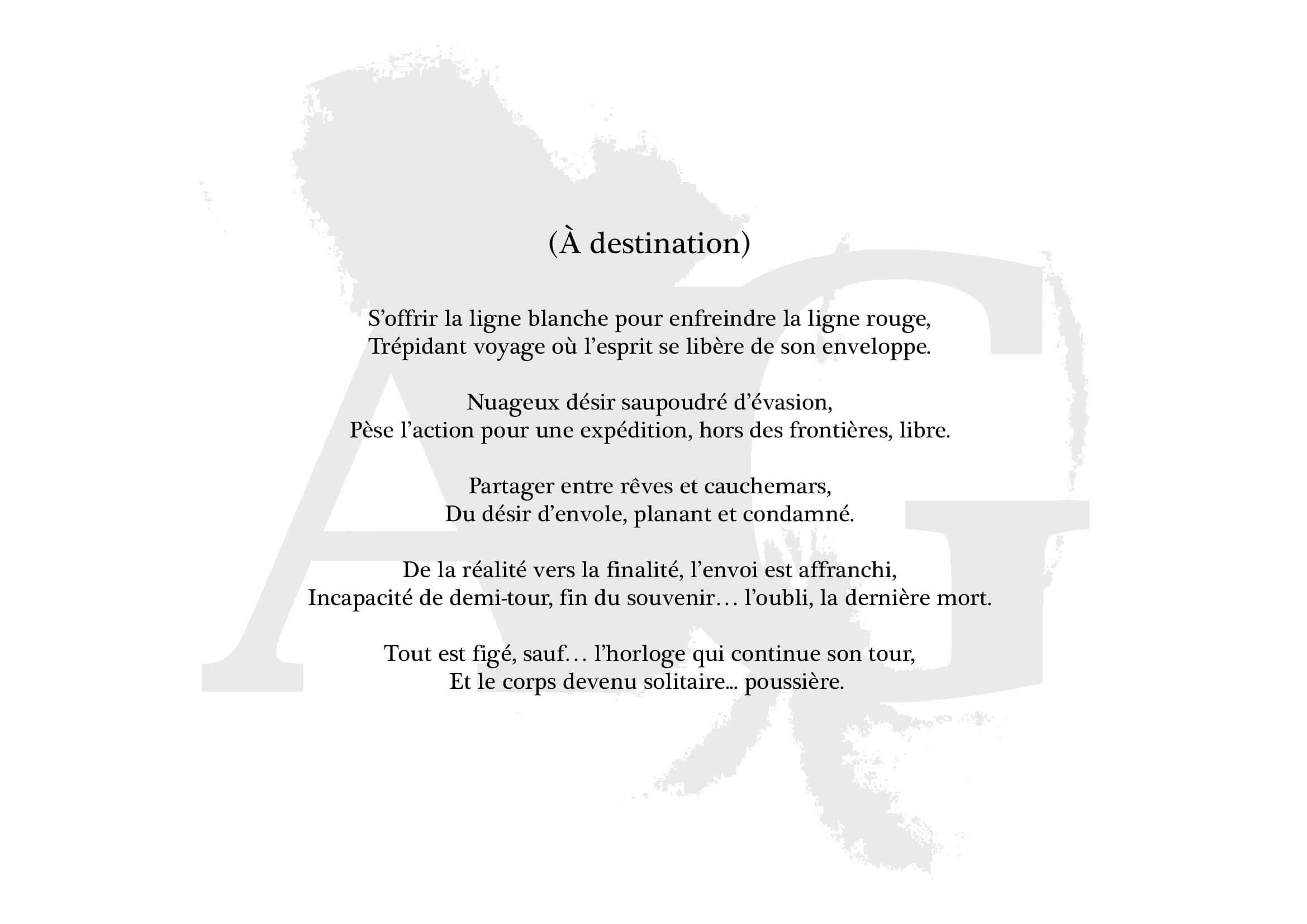 """Extrait de recueil pour """"l'écriture des maux"""""""